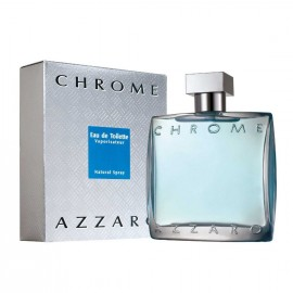 AZZARO CHROME MASCULINO EAU DE TOILETTE 100ML