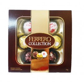 FERRERO COLLECTION COM 07 UNIDADES