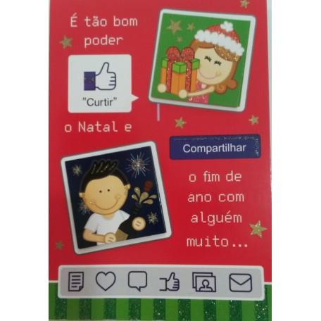 CARTÃO DE NATAL COMPARTILHAR