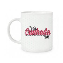 CANECA TODA CUNHADA TEM