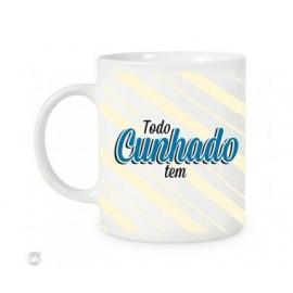CANECA TODO CUNHADO TEM